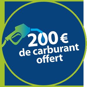 200 euros de carburant offert